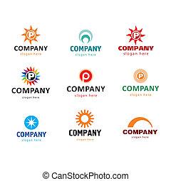 logotipos, compañía