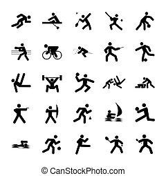 logotipos, de, esportes