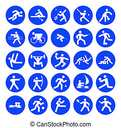 logotipos, deportes