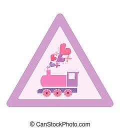 logotype, abstrakcyjny, motyle, ilustracja, serca, lokomotywa, wektor