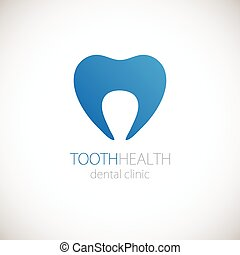 logotype, dente, ícone