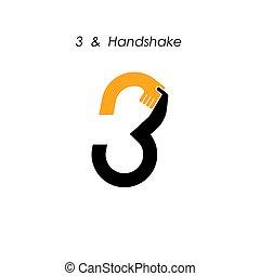 logotype, offre, business, résumé, icon., industriel, template., nombre, logo, créatif, icône, vecteur, conception corporation, symbole., 3-, association