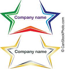 logotype stars