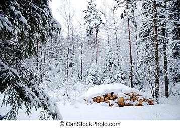 logpile, nevado