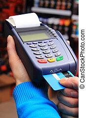 lohnend, begriff, laden, kredit, elektrisch, karte, finanz