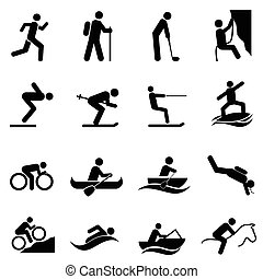 loisir, sports, et, activités plein air