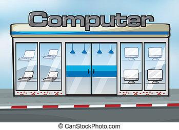 loja, computador