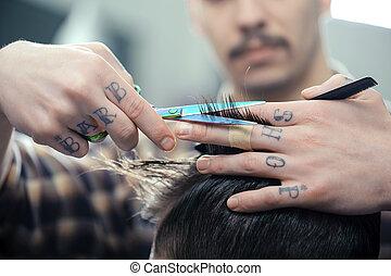loja, corte cabelo, barbeiro