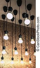 loja, lâmpadas