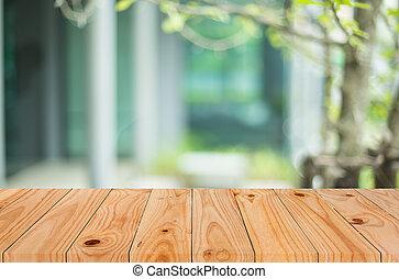 loja, marrom, café, selecionado, imagem, madeira, montage., ...
