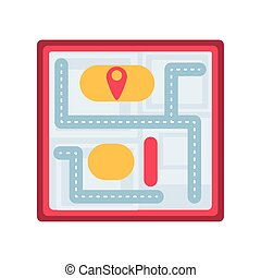 lokalisering, bakgrund, vit, karta, papper