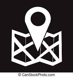 lokalisering, ikon