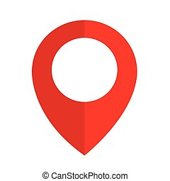 lokalisering, stift, ikon