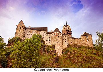Loket Castle - Czech Republic, Europe