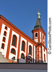 Loket church, Czech republic
