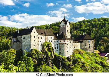 loket, república checa, castillo