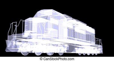 Lokomotiv. X-ray