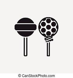 lollipop, アイコン