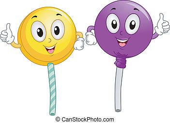 lollipop, マスコット