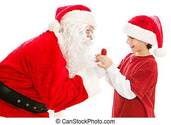 Lollipop From Santa Claus