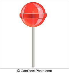 lollipop - sweet candy lollipop isolated on white background
