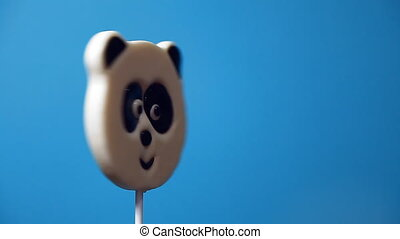 lollipop in the form of an cat