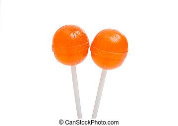lollipop isolated