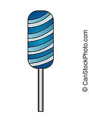 lollipop sweet caramel snack icon