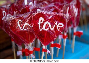Lollipops on the market
