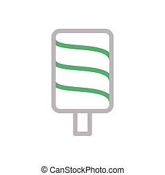 lolly color line icon