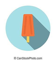 lolly flat icon
