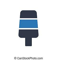 lolly  glyph color icon