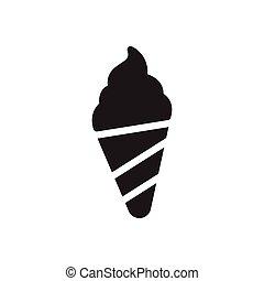 lolly glyph flat icon