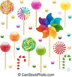 Lollypop Big Set With Pinwheel