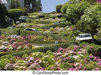 lombard거리, 샌프란시스코