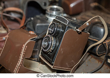 lomography, estilo, cámara, imagen, vendimia, viejo