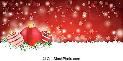 Lon Red Christmas Card