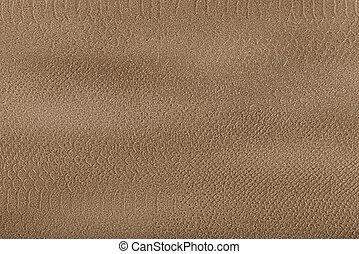 lona, fundo, grosseiro, textura, yellow-brown