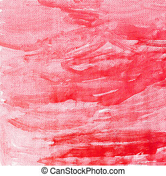 lona, textura, fundo, vermelho