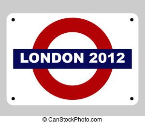 londen, concept, olympics