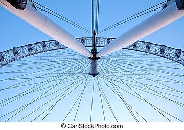 Arichitecture of London Eye