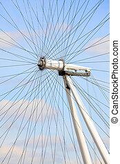 Architecture of London Eye