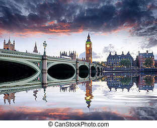 London at Dusk
