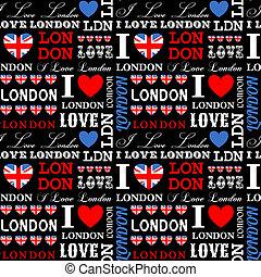 london, bakgrund