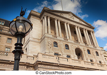 London Bank of England in Threadneedle Street.