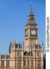 big ben - london, big ben clock at the westminster city