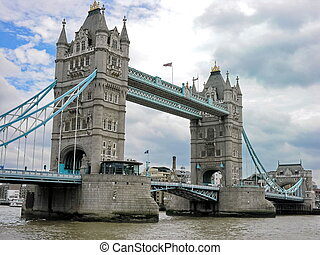 London Bridge Over The River Thames, England Uk