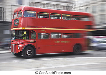 London bus - taken on August 23, 2010, in London