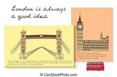 London Card Set