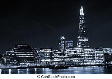 London city - London cityscape around Southwark, on the...